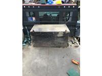 Van vault lock box site storage
