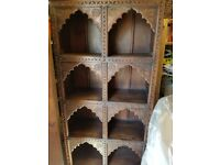 Wooden display cupboard