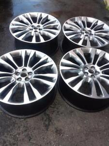 BRAND NEW TAKE OFF LINCOLN MKX 2016 FACTORY OEM 21 INCH ALLOY WHEELS WITH SENSORS
