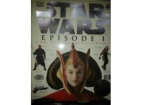 3 STAR WARS Collectors books Episode I
