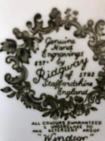 Ridgeway Collectible Tea set - lots of items