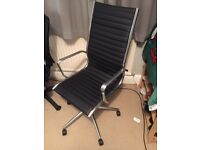 Stylish and surprisingly comfy office chair swivel leather