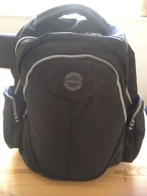 Baby Changing Bag/ Rucksack. As New Condition. Lots of pockets.