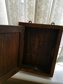 Wooden key cupboard