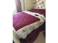 Small Double Adjustable Bed SOLD