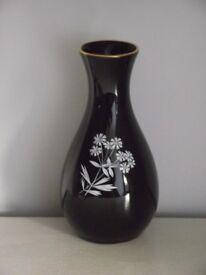 Vintage Wade 'Black Frost' Posy Vase circa 1950's - 60's