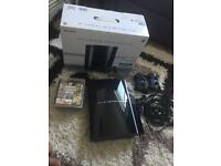 *BOXED* PS3 bundle x2 Controller x6 Games & Headset