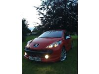Peugeot 207 GTI with octaine pack