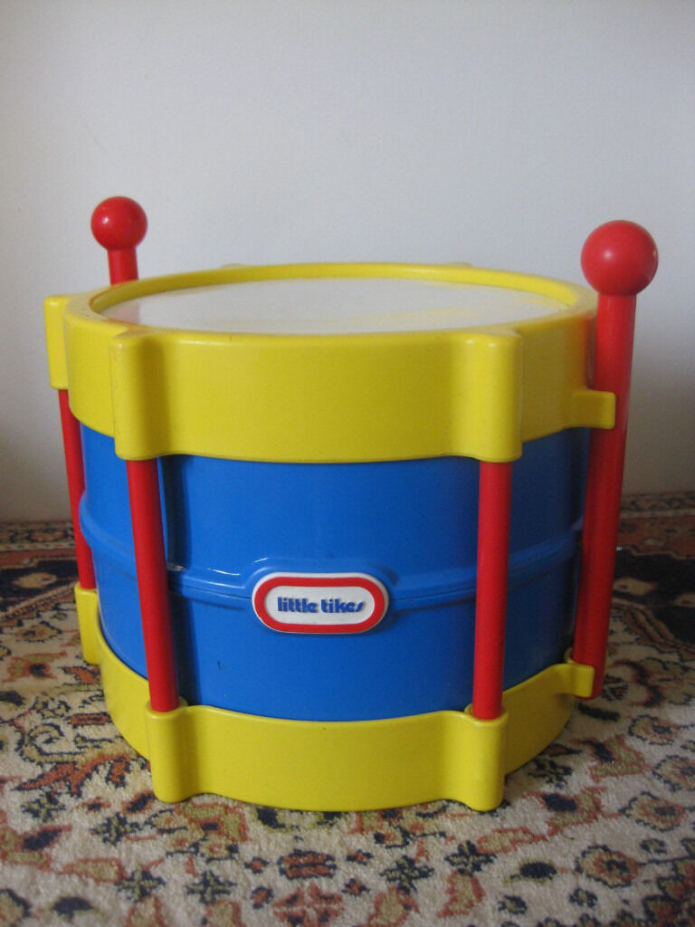 LITTLE TIKES DRUM (£13 Amazon for the drum alone!) & free zylophone + Sleigh bell shakers - BARGAIN