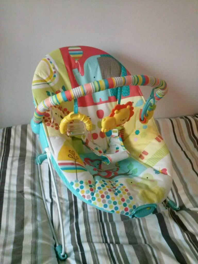 Chad Valley deluxe baby bouncer seat/chair
