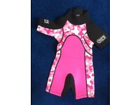 Girls Wetsuit, size 2/3