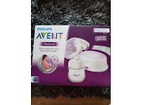 Advent electric single breast pump