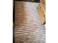 Ikea Striped Wool Rug