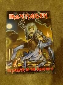 Iron Maiden no prayer on the road tour 1990/91programme