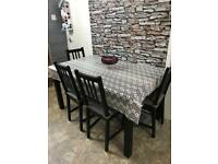 dining table&4 chair