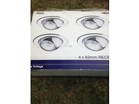 Recess Lights - 4 Brand New - Ranworth