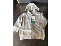 Boys H&M grey hoodie - new