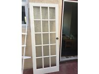 Good quality glass frosted door