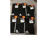 6 pair Adidas football socks size8.5-10
