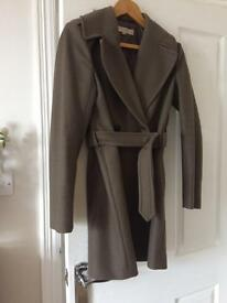 French connection coat New! Worn once. Size 8