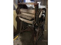 Antique Cast Iron Mangle - Free if you take it away