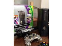 X Box 360 & Kinect, 2 controllers and games