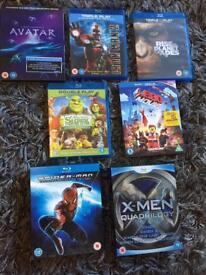 Blu-Rays Various Titles - individually priced
