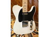 2013 Fender Baja FSR Telecaster Guitar - White Blonde - *RARE*