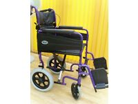 DAYS. . Folding transporter Wheelchair.