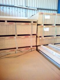 Pallets 24-36 x Egger Eurodekor MFC Laminated Chipboard panels - 15- 18mm - 2800 x 2070