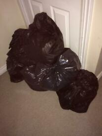 Bundle of boys clothes T shirts jumpers bottoms jackets all washed in