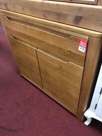 1 drwr 2 door chest - wood