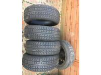 NEARLY NEW TYRES 205/55R16