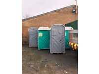 8 portaloos for sale £300 each or £2000 for lot