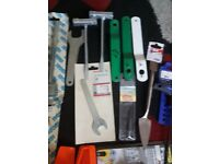 Selection of new tools
