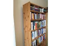 Large Wooden Book Shelf