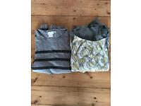 Two Maternity jumpers size 14