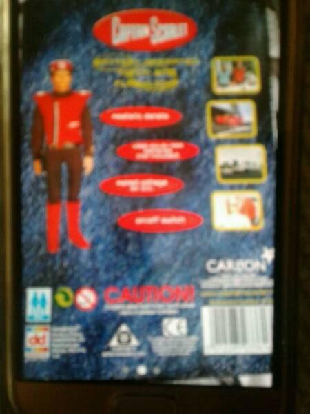 Old captain scarlet for sale  Durham, County Durham