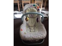 Barely used baby bouncer