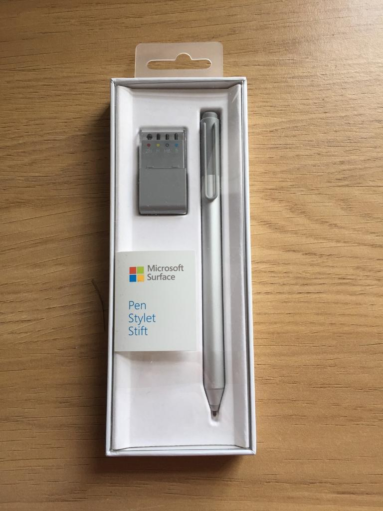 Microsoft surface pen (brand newin DundeeGumtree - Microsoft surface Pen with five different gradients. Never been used, kept in great condition