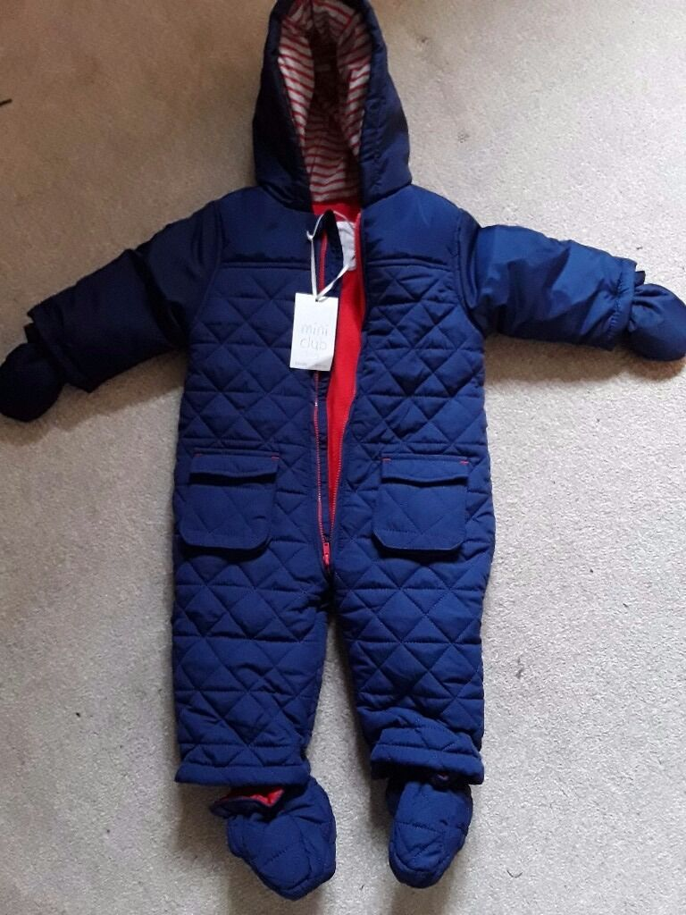 Boots Mini Club Blue Snowsuit/Thermal All In One For 9 12 Monthsin Swaffham, NorfolkGumtree - For Sale Boots Mini Club Blue Snowsuit/Thermal All In One For 9 12 Months Brand new with tags Collection from Swaffham