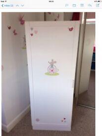White nursery furniture bundle