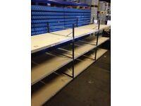link industrial longspan 2.1m high ( pallet racking , storage )