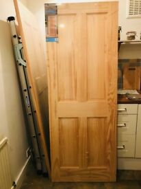 2 solid wood doors from wickes for sale - still in original packaging
