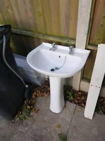 Free bathroom sink to a good home