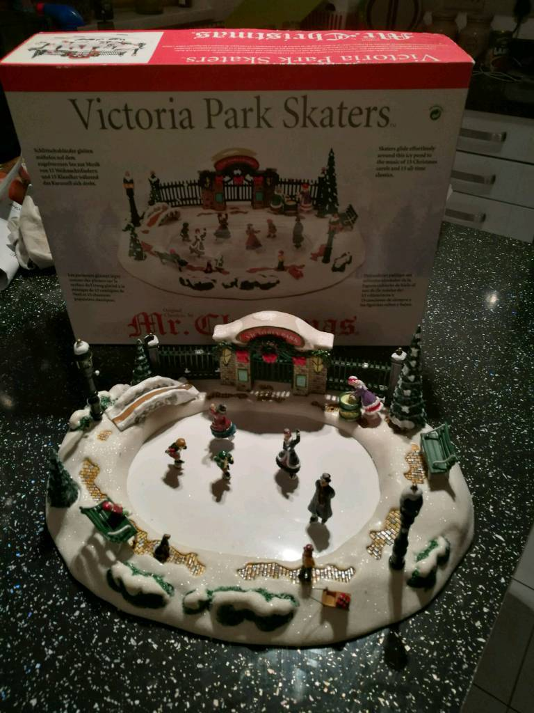 Christmas ice rink moving model