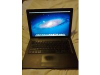 Apple laptop 2007 modal black