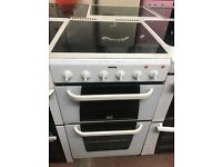 50CM WHITE CREDA ELECTRIC COOKER GRILL/OVEN