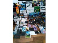 Vintage mobile lot over 60 phones + booklets very rare