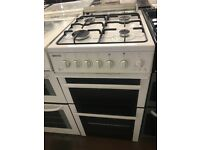 50CM WHITE BEKO GAS COOKER